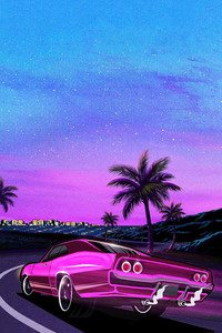 1242x2688 Outrun The Night