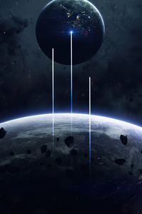 1280x2120 Outside Space Planet