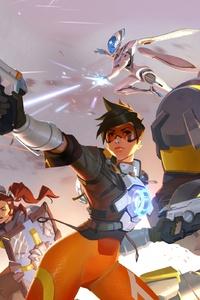 640x1136 Overwatch 2 Game Heroes 4k