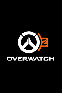 Overwatch 2 Game Logo 5k