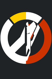 2160x3840 Overwatch Blackwatch 4k Logo