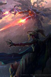 Overwatch Game Art By wangxiaoyu