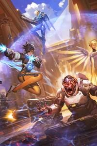 Overwatch Game Artwork