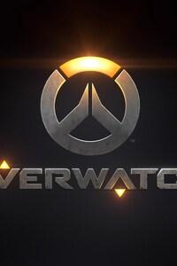 720x1280 Overwatch Game Logo