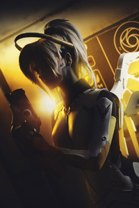 720x1280 Overwatch Mercy Artwork