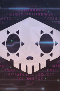 480x854 Overwatch Sombra Logo