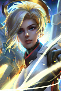 360x640 Overwatch The Mercy