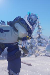 Overwatch Winter Wonderland 2017 4k