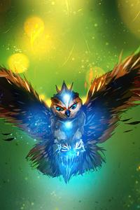owl art 4k 2u