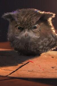 Owl Fantasy Art