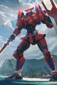 Pacific Rim Jaeger 4k