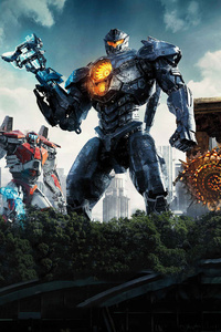 Pacific Rim Uprising 2018 Movie Poster Latest
