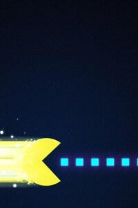 240x320 Pacman Art