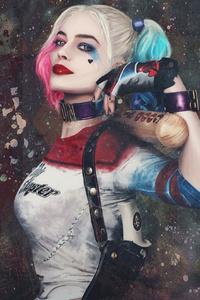 Paint Art Harley Quinn