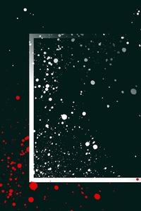 Paint Splatter Dots Minimalism
