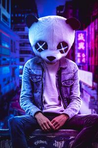 1080x2160 Panda Art 4k