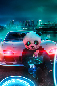 480x854 Panda Money Guy 4k