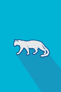 540x960 Pardus Logo 4k