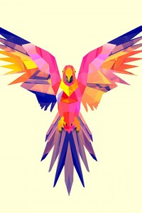 540x960 Parrot Vector
