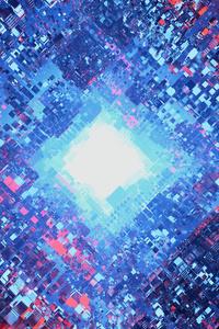 750x1334 Particles Art 4k