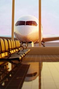 1440x2560 Passenger Plane