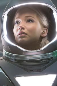 480x854 Passengers 2016 Movie Chris Pratt Jennifer Lawrence