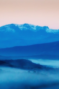 1080x2160 Pastel Landscape 5k
