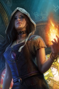 750x1334 Path Of Exile Fantasy Girl Artwork