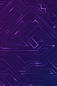 1080x2160 Pattern Violet Graphics 4k