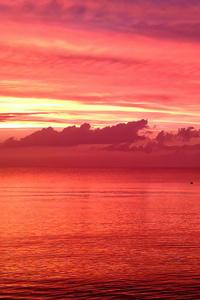 320x480 Peaceful Sunset 5k