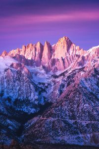 360x640 Peaks Of Mount Whitney