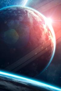 2160x3840 Pearl Planet 4k