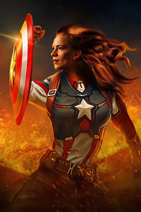 1080x2160 Peggy Carter What If