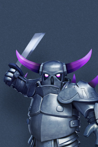 240x400 Pekka Clash Of Clans