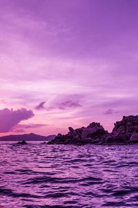 Pelican Island at Sunset