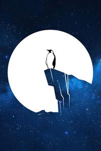 1125x2436 Penguin Linux 4k