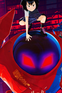 2160x3840 Peni Parker And SP Dr In Spider Man Into The Spider Verse Official Poster 5k