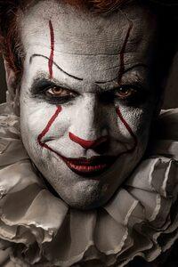 480x800 Pennywise Joker 5k
