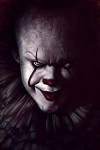 720x1280 Pennywise The Clown Fanart