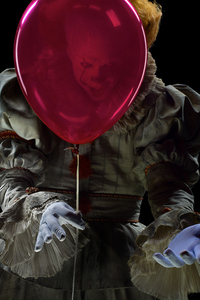 1080x2280 Pennywise The Clown It 5k
