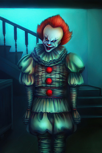 320x480 Pennywise Weird
