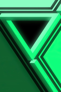 Penrose Triangle 4k