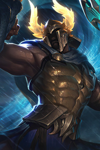 Perseus Pantheon League Of Legends