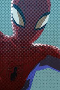 1080x2160 Peter Parker Art 4k