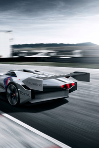 1440x2960 Peugeot L500 R HYbrid Vision Rear Gran Turismo