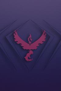 1125x2436 Phoenix Pokemon Logo 4k