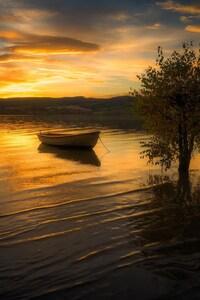 Photography Lake Boat