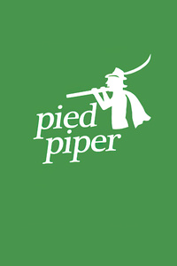 320x568 Pied Piper Silicon Valley Logo 4k