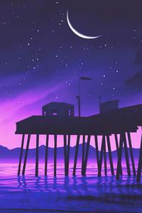 Pier House Digital Art 4k