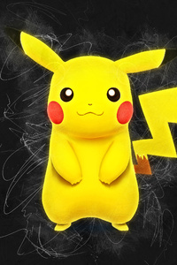 Pikachu Artwork 4k